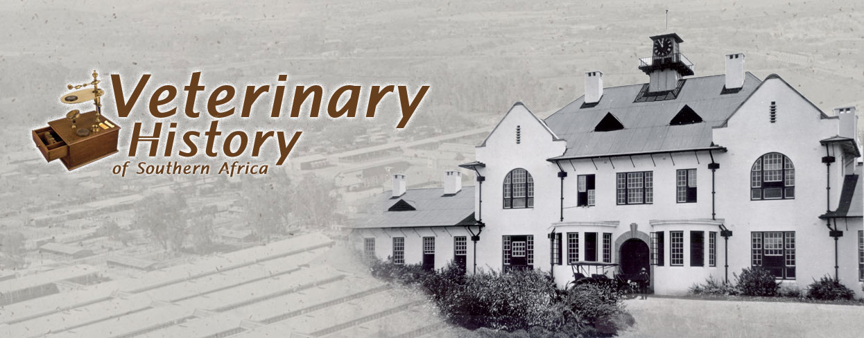 Veterinary History of Southern Africa Home Page